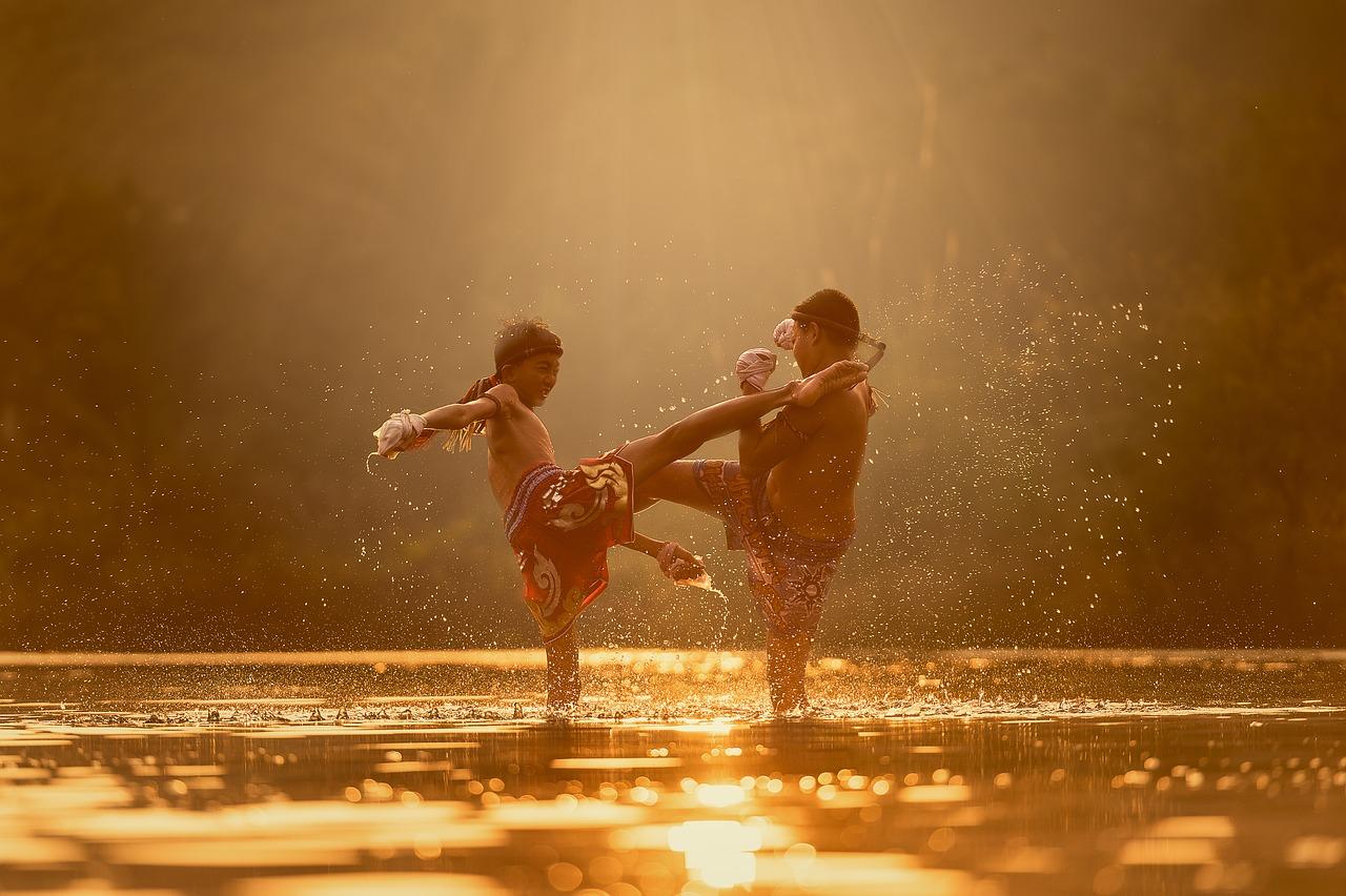 Boxe en Thaïlande