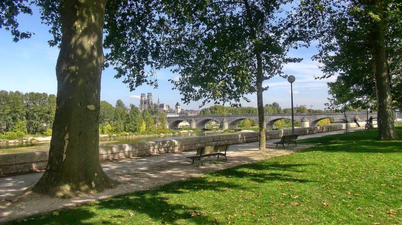 Parc à Orléans